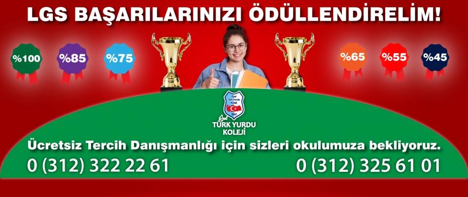 LGS BAŞARILARINIZI ÖDÜLLENDİRELİM!